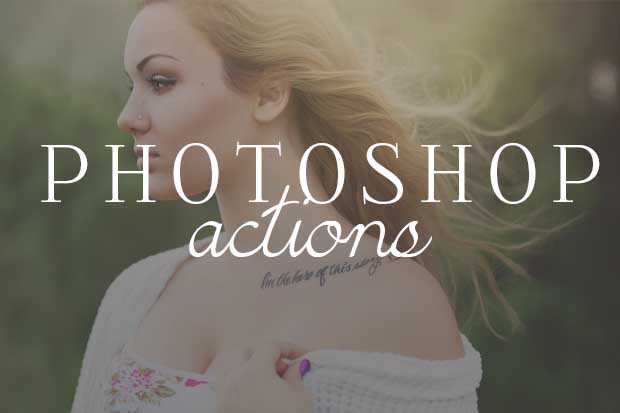 Photoshop Actions & Editing Tools for Photographers. Check out the free samples and free tutorials.