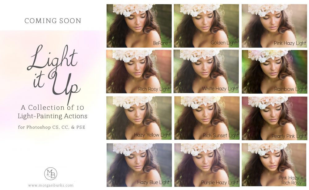 LightItUp MB Light It Up Actions Collection - Morgan Burks