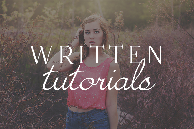 Written Tutorials