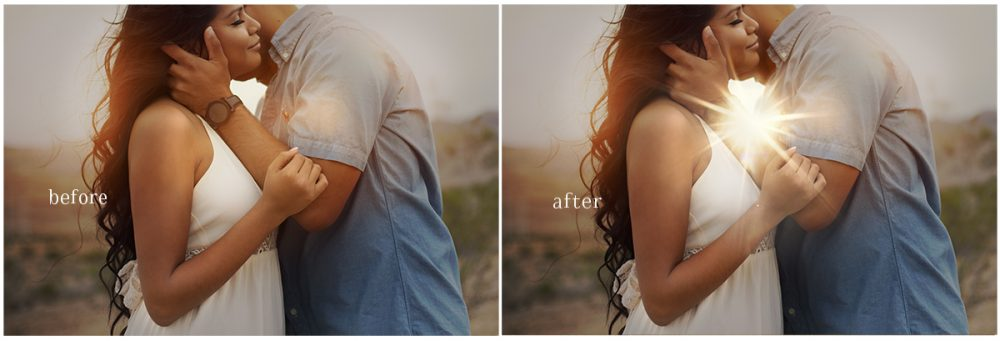 Add gorgeous light flare to your images with these Overlays. Compatible with Photoshop & any other programs that allow the use of layers.