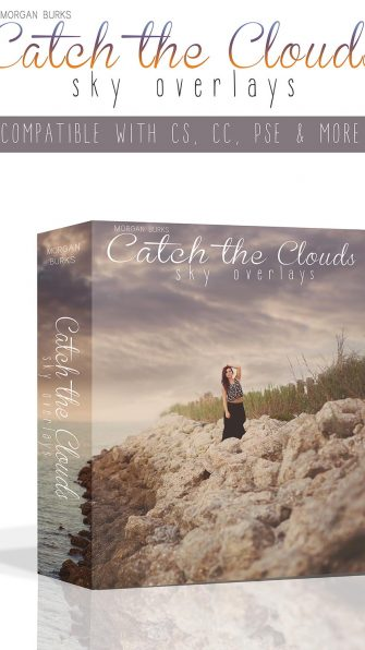 Transform plain skies with the gorgeous Catch the Clouds Sky Overlays!