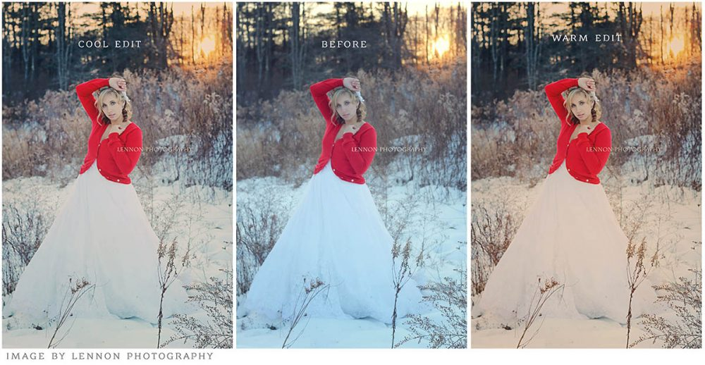 Add gorgeous winter tones to your images with the MB Winter Bliss Photoshop Actions! www.morganburks.com