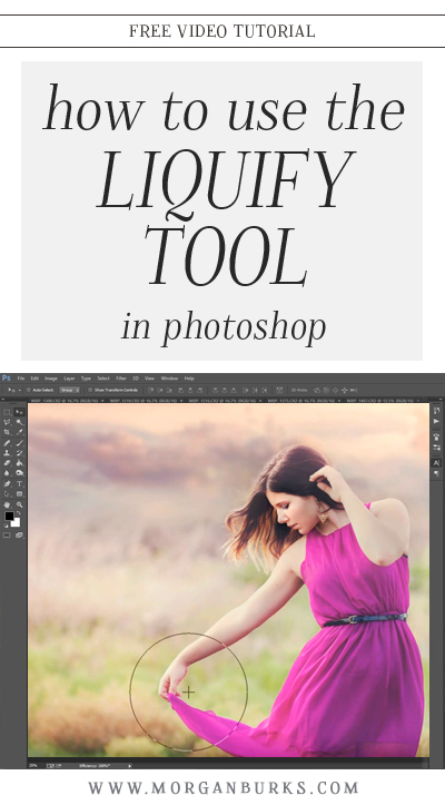 In this video tutorial, I'll show you how to use the Liquify Tool in Photoshop!