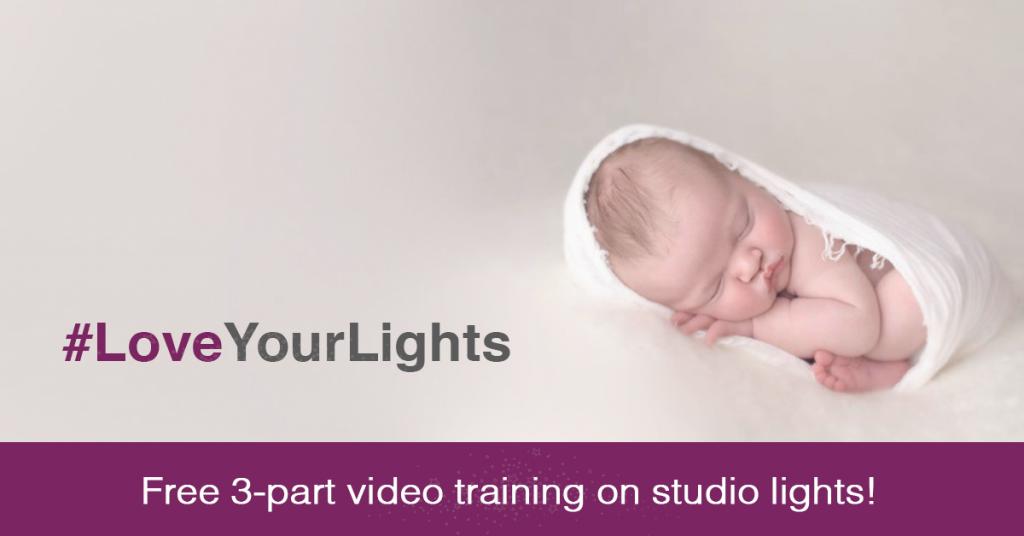 Free 3-part video training on studio lighting!