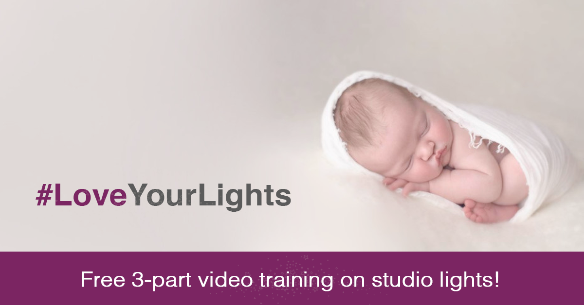 Free 3-part video training on studio lighting!
