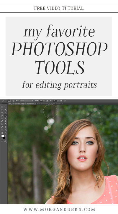 There are so many different options and features in Photoshop.  In this video, I'll show you a few of my favorite Photoshop tools.