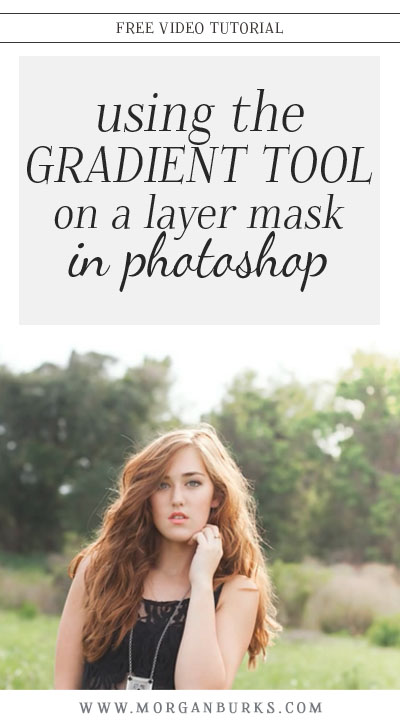 Learn how to use the Gradient Tool on a layer mask to gradually fade an effect into your image in Photoshop!