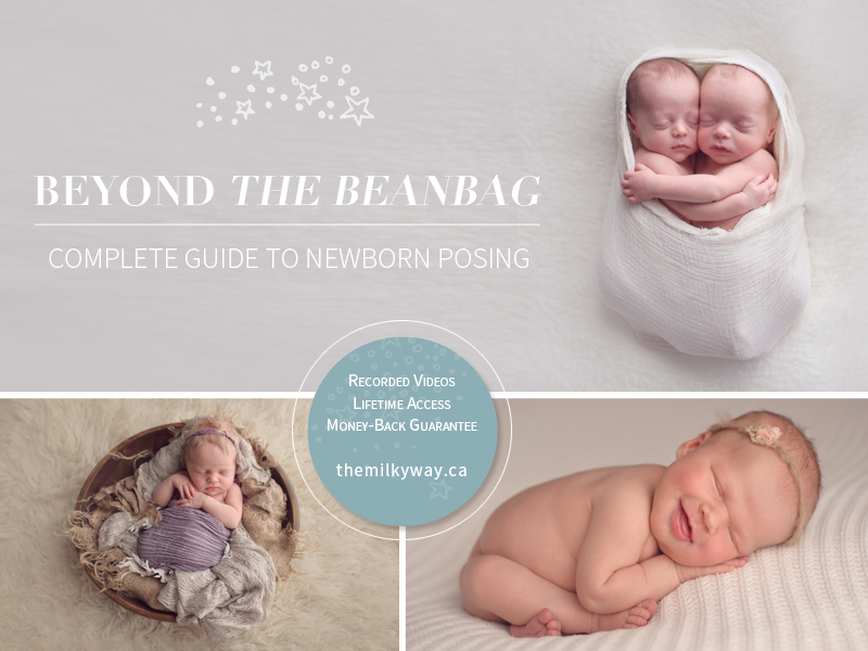 Beyond the Beanbag Course – Complete Guide to Newborn Posing