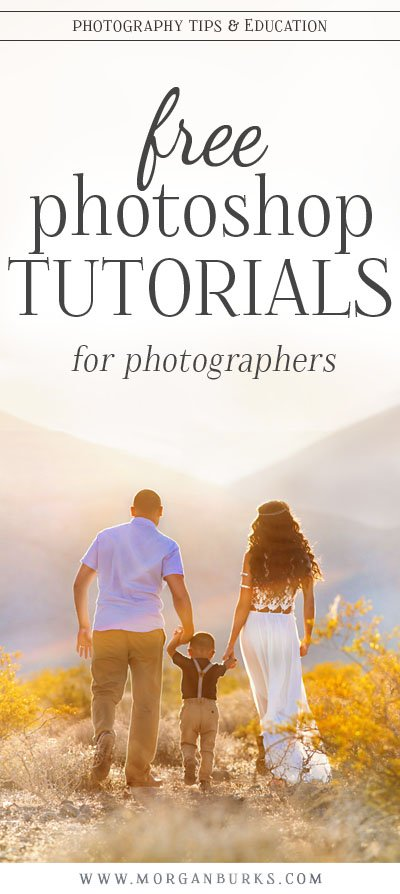 Find TONS of free Photoshop tutorials for photographers at www.morganburks.com