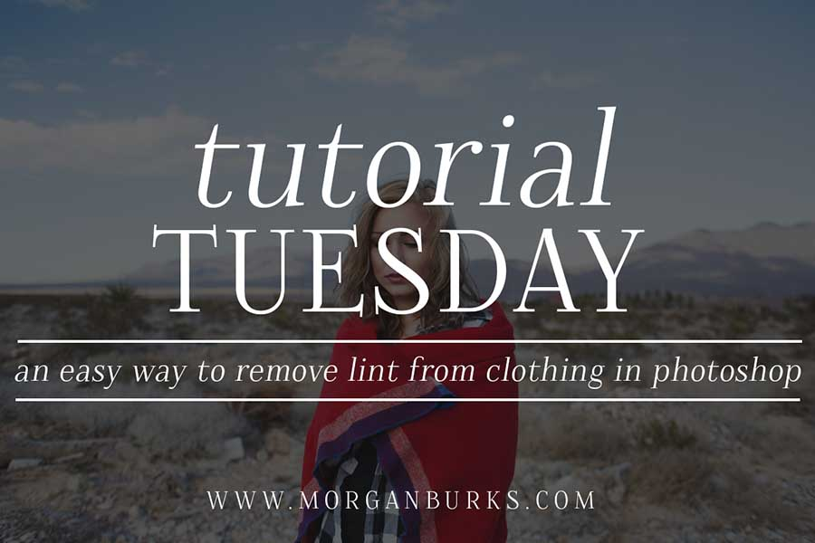How to quickly and easily remove lint from clothing in photoshop morgan burks - How to remove lint ...