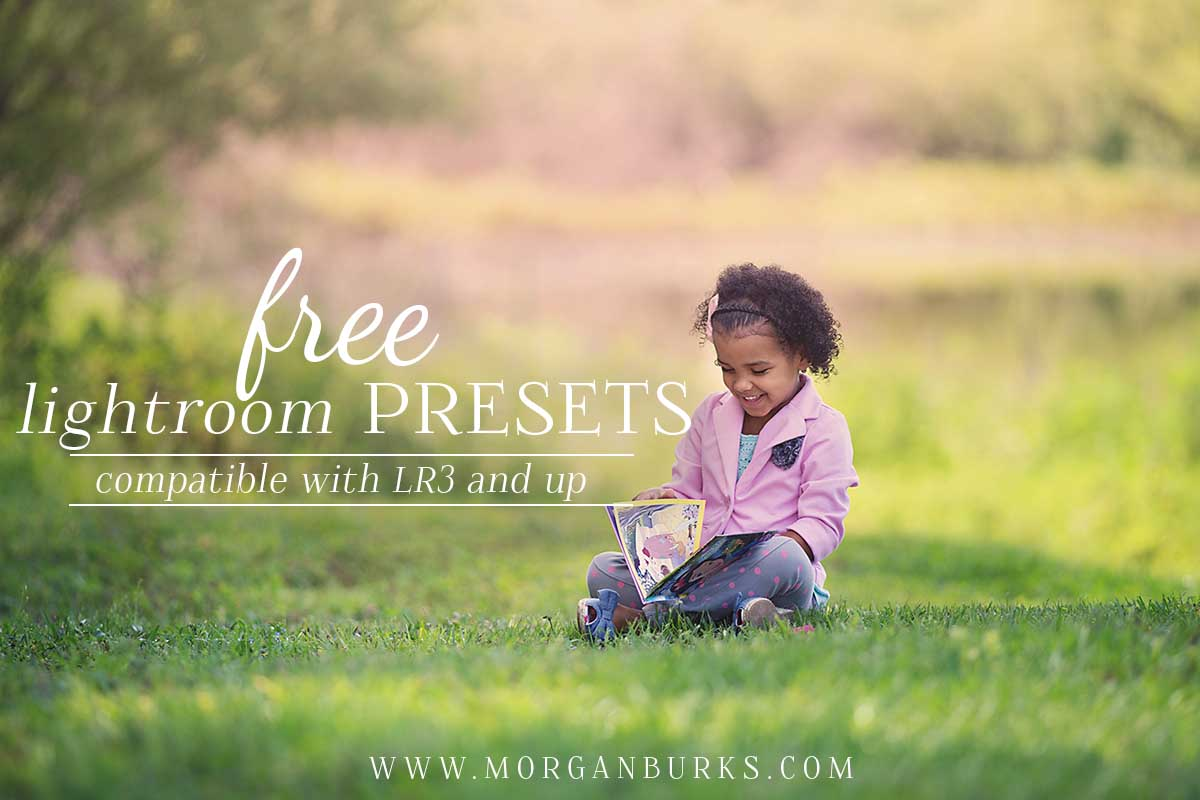 Photographers: Enhance your images with these Free Lightroom Presets! | Find more free editing products for photographers at www.morganburks.com