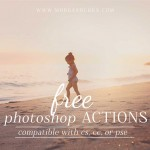 Download these free Photoshop Actions for photographers and get started editing your images in one click! Video tutorials available to help you use them.