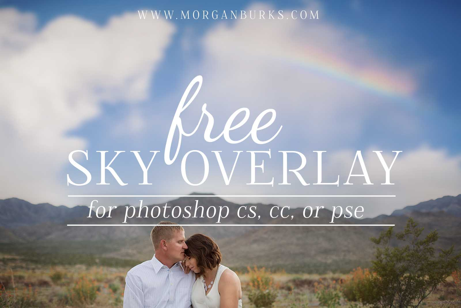 Transform plain skies with a unique rainbow effect with this Free Sky Overlay for Photoshop & Elements!