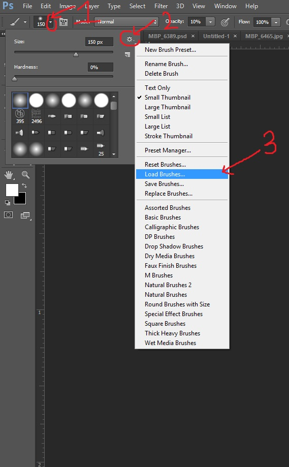How to Install Photoshop Brushes - A simple, 3-step tutorial. (Video tutorial also available)