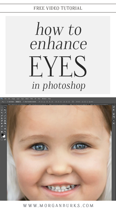 In this video tutorial, I'll show you how to enhance eyes in Photoshop.