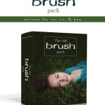 MB Brush Pack Photoshop Actions - a set of 7 paint-on actions for enhancing your images in Photoshop