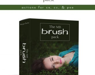 The MB Brush Pack – Photoshop Actions