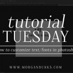 Learn how to customize the look of text and fonts in Photoshop with this free tutorial