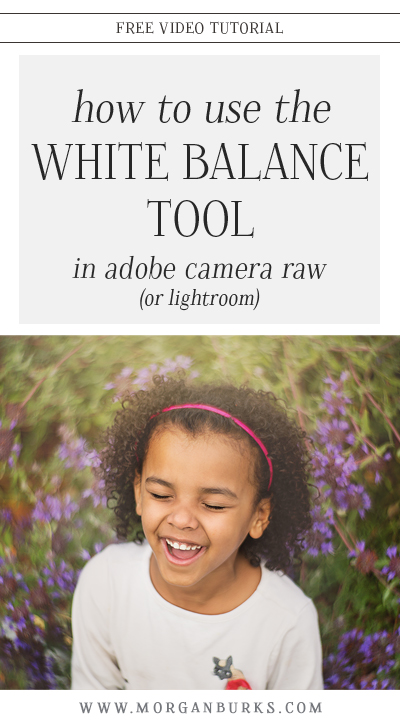 In this tutorial, I'll show you how to achieve a proper white balance in just one click using the White Balance Tool in Adobe Camera RAW!