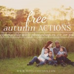 Free Autumn Photoshop Actions for CS, CC or PSE!