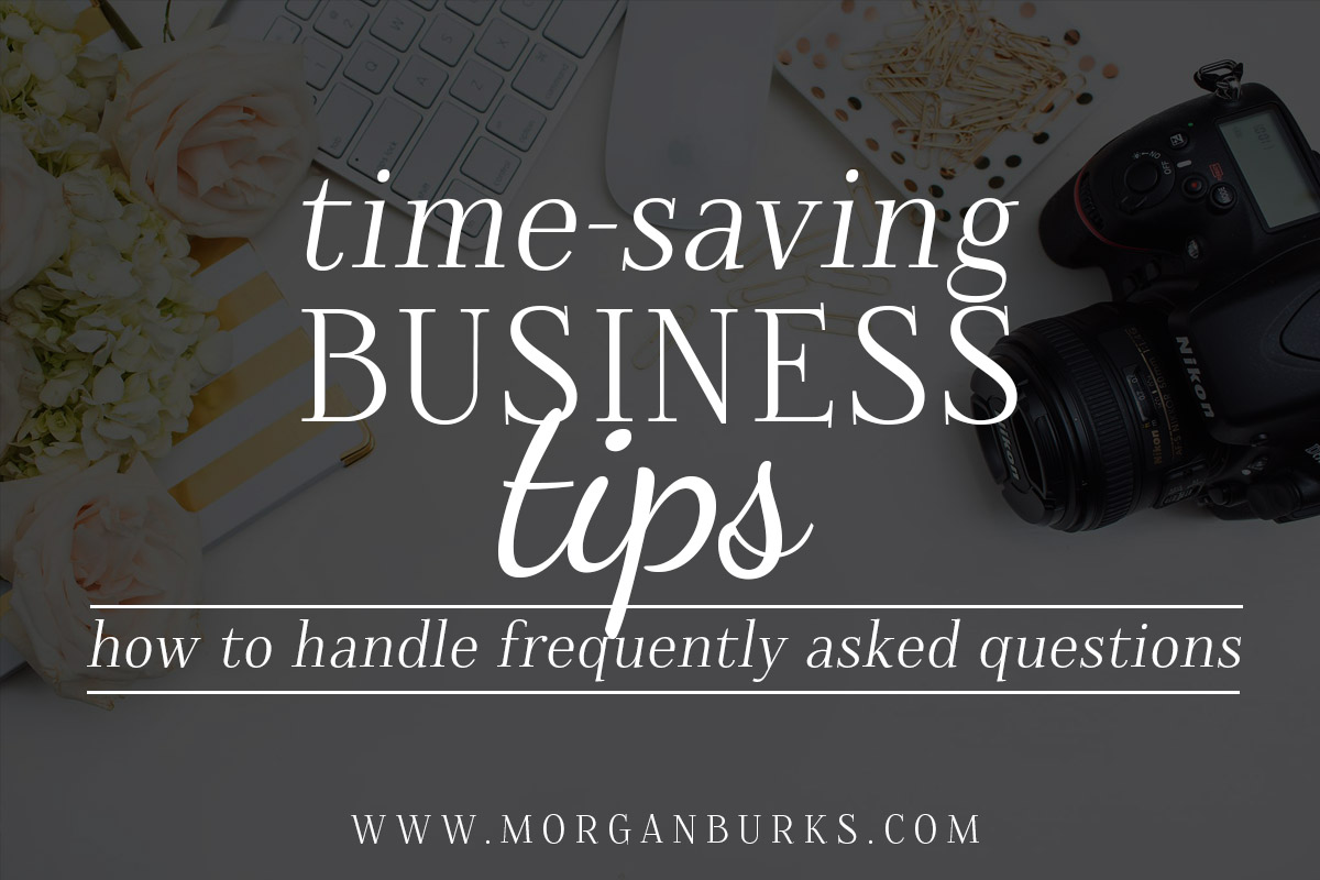 How to handle Frequently Asked Questions in your business.
