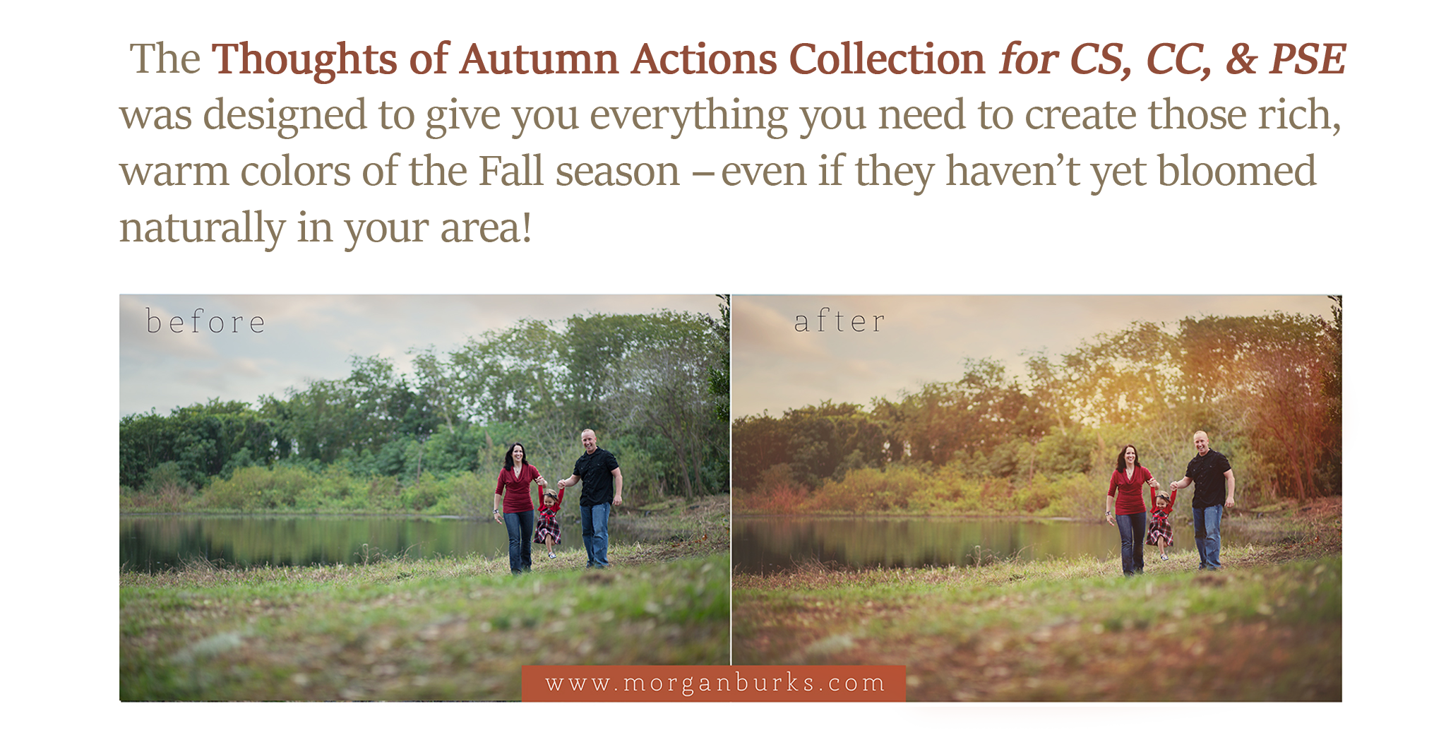 Thoughts of Autumn Photoshop Actions