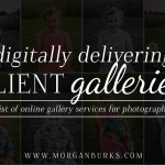 A list of online gallery services for photographers