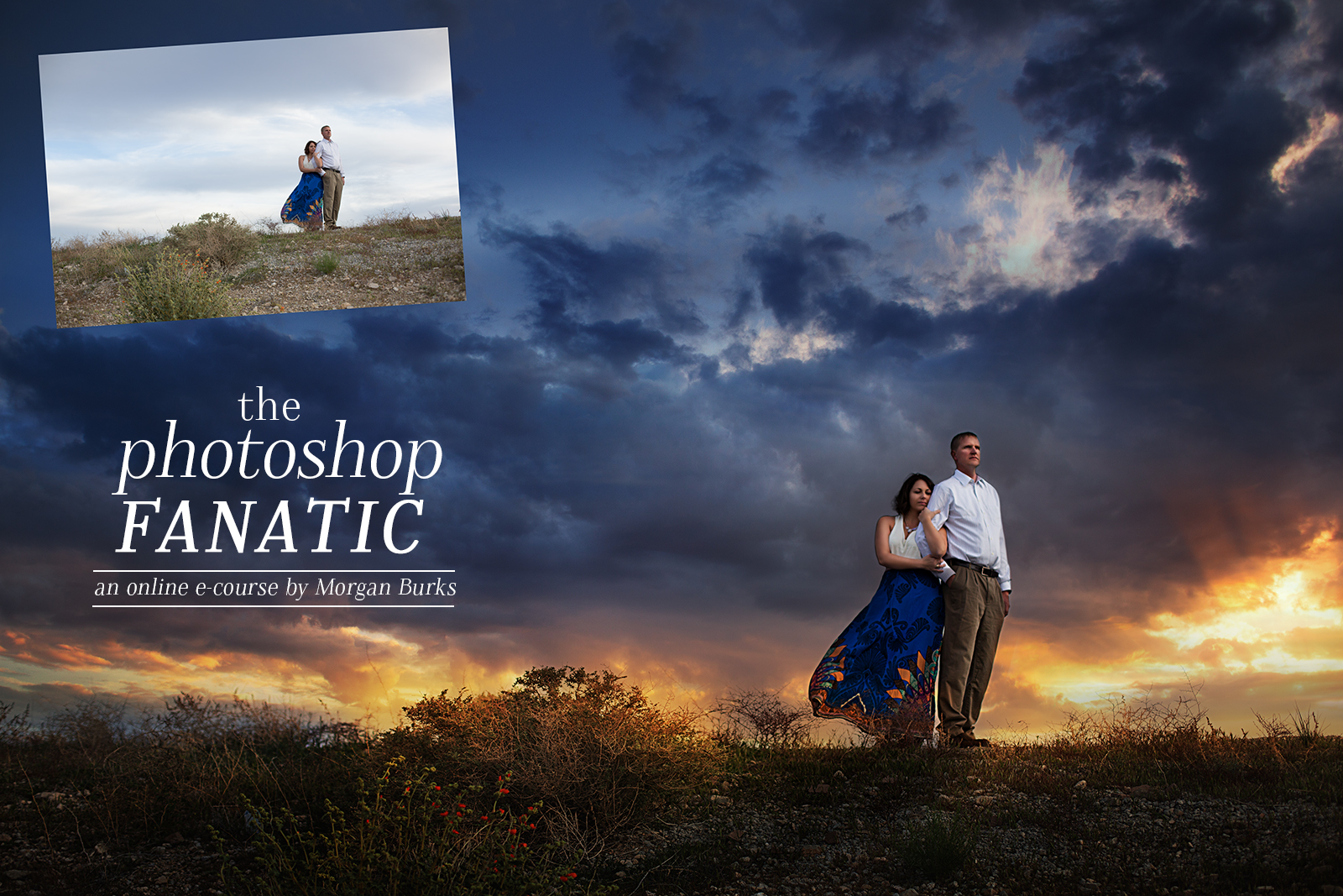 Learn Photoshop online with The Photoshop Fanatic Course by Morgan Burks.