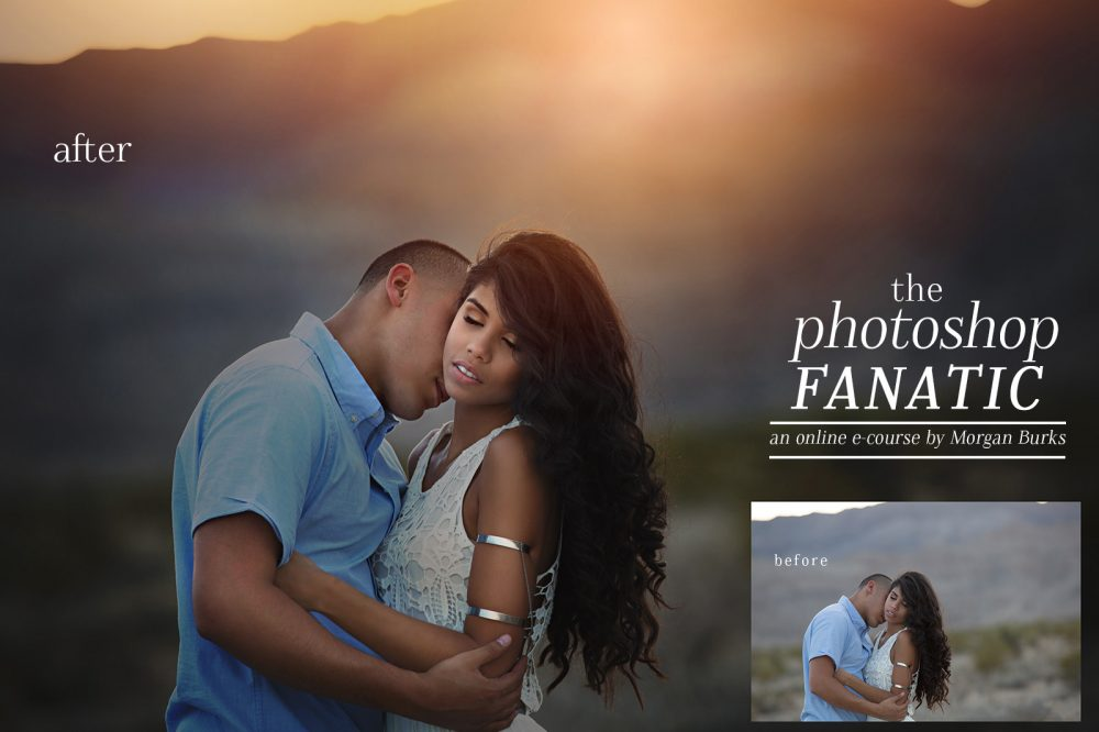 Learn Photoshop Online with The Photoshop Fanatic Course by Morgan Burks