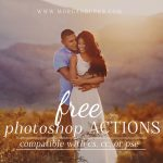 Download this fun set of free actions and save time editing! Includes Web Resizing Actions as well.