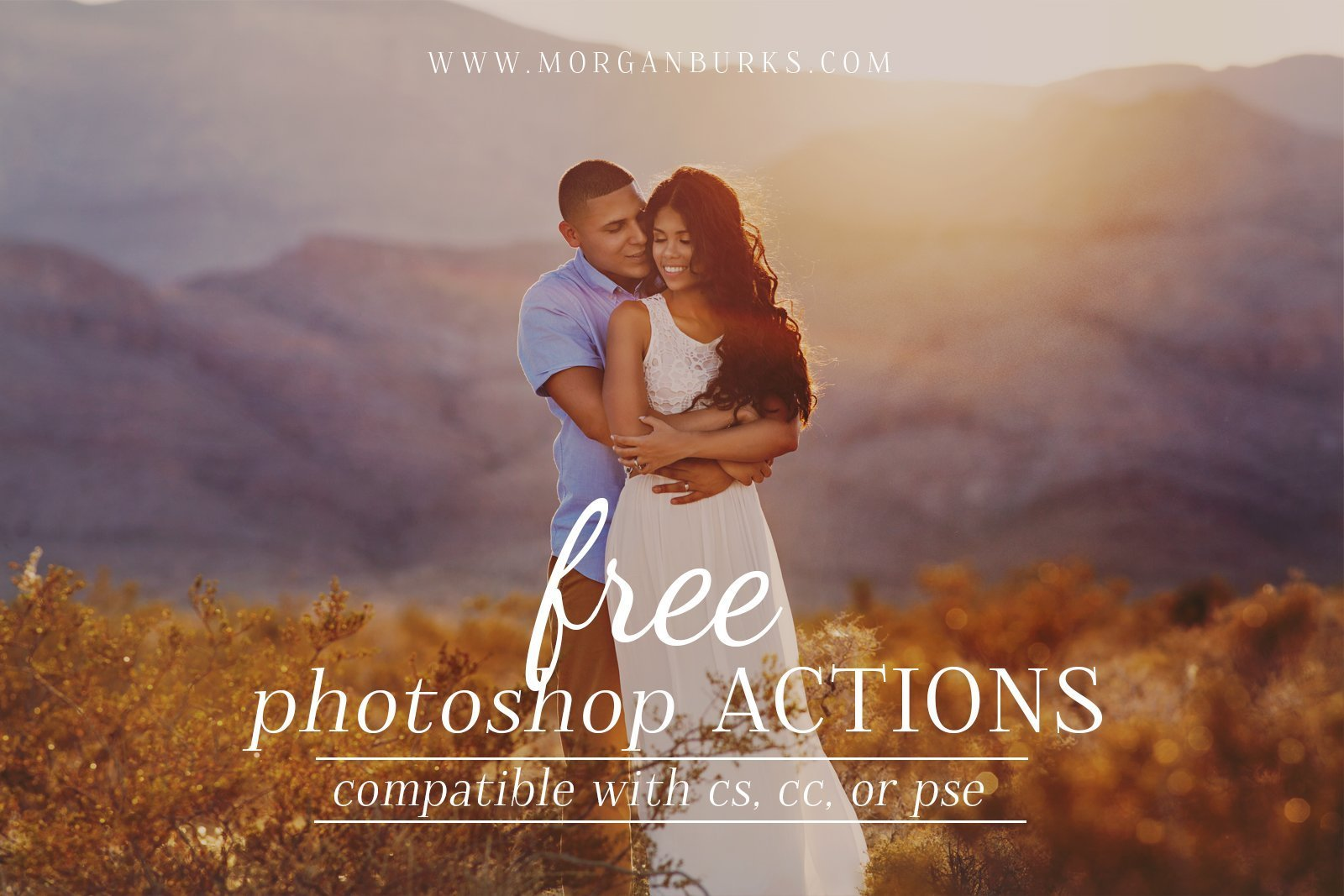 Photographers: Enhance your images with these Free Photoshop Actions! | Find more free editing products for photographers at www.morganburks.com