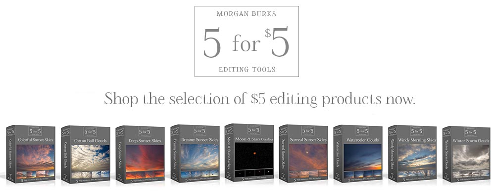 $5 Editing Products for Photographers - Easy to use & affordable!