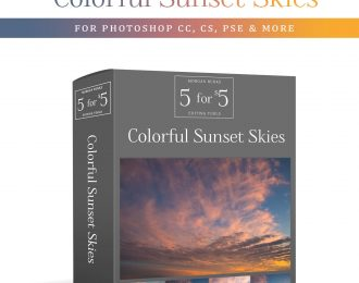 MB 5-for-$5 Pack – Colorful Sunset Skies