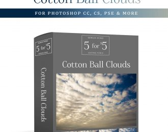 MB 5-for-$5 Pack – Cotton Ball Clouds