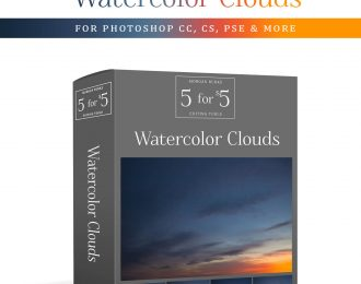 MB 5-for-$5 Pack – Watercolor Clouds