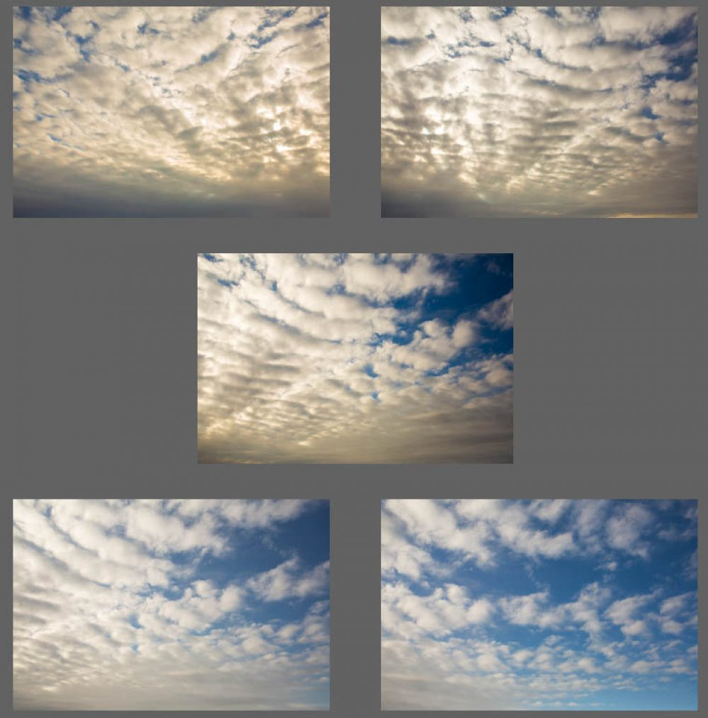 Cotton Ball Clouds Sky Overlays for Photoshop & Elements - $5 Editing Products for Photographers. Easy to use and affordable!