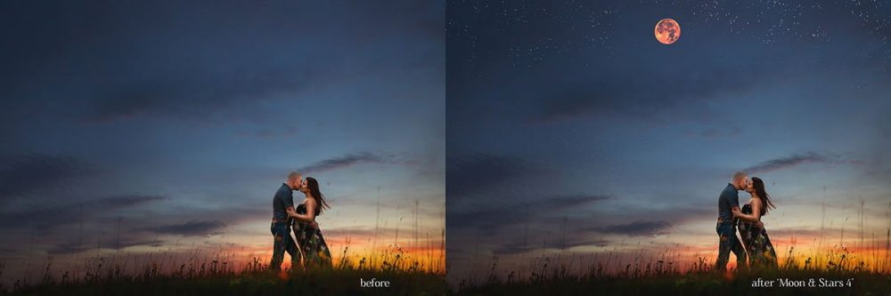 Get creative with these $5 Moon & Stars Overlays for Photoshop!