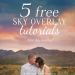 Learn to apply sky overlays like a pro with these 5 free sky overlay tutorials for Photoshop!