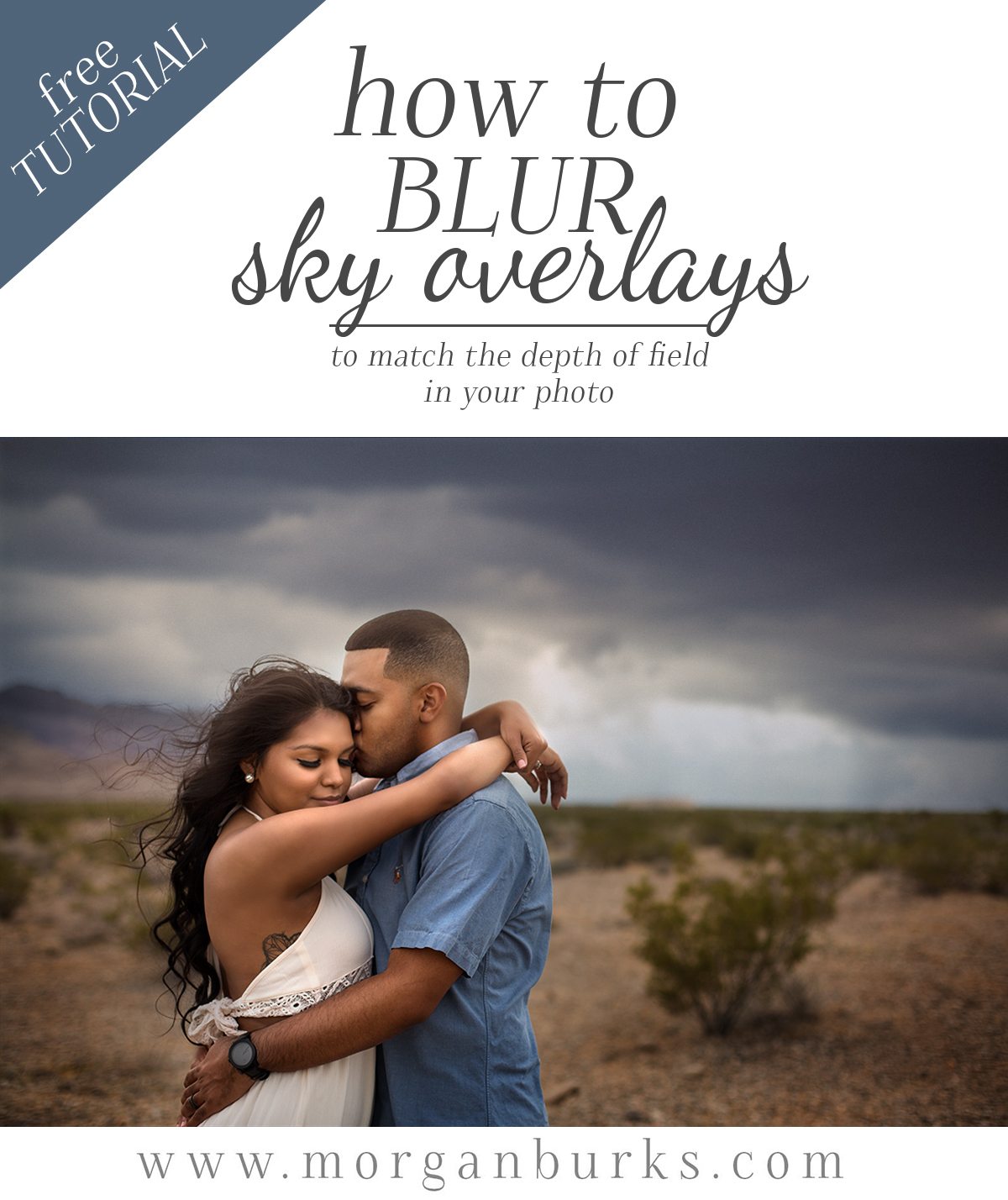 This video tutorial will show you how to blur Sky Overlays in Photoshop to match the depth of field in your image.