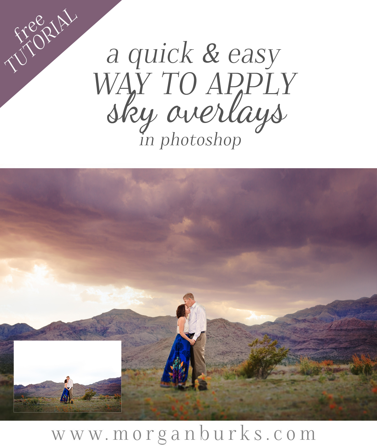 Learn to appy sky overlays like a pro with these 5 Sky Overlay Tutorials for Photoshop!