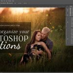 In this tutorial, I'll show you a few tips for organizing Photoshop Actions, to save you time!