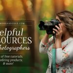 Helpful resources for photographers: a list of free tutorials, products, and services for photographers all in one place!