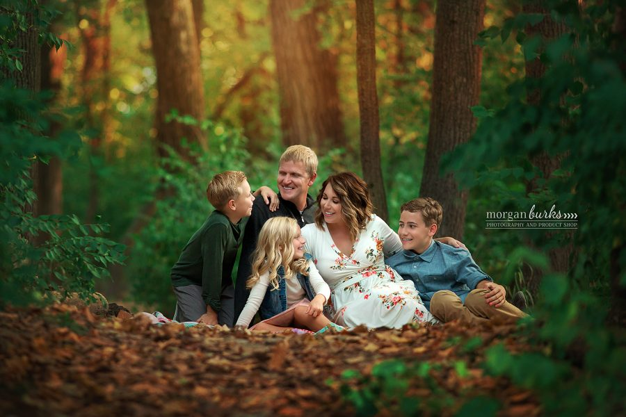 Manhattan KS Family Portrait Photographer - Morgan Burks