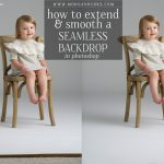 Learn how to extend and smooth a seamless backdrop in Photoshop with this free tutorial!