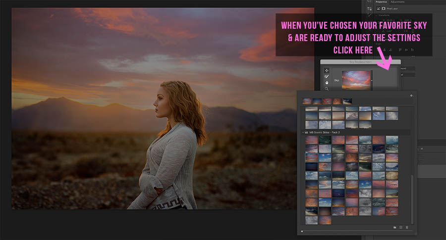 Learn how to add sky overlays to the sky replacement panel in Photoshop CC 2021 with this free tutorial.   Find more free tutorials and editing tools at www.morganburks.com