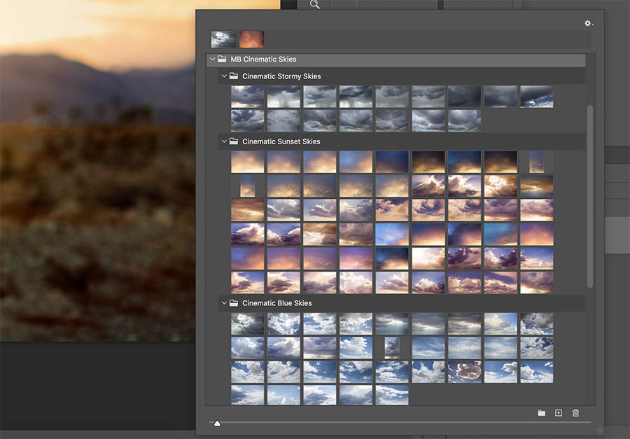 Arrange Folders in Sky Replacement Panel   Learn how to add sky overlays to the sky replacement panel in Photoshop CC 2021 with this free tutorial.   Find more free tutorials and editing tools at www.morganburks.com