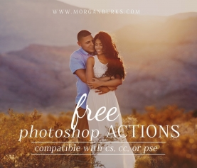 Free Photoshop Actions for Photographers - Morgan Burks